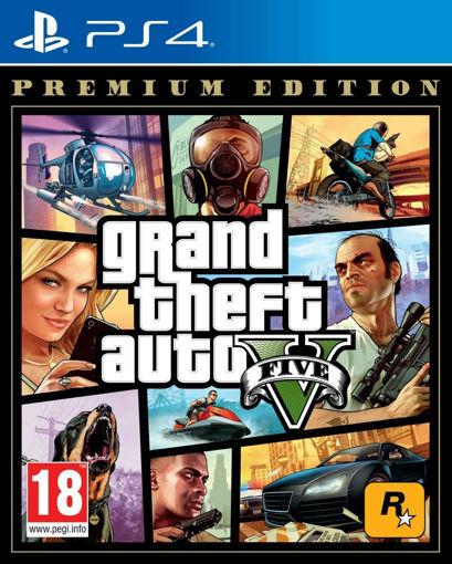 Игра Grand Theft Auto V - Premium Edition за PS4