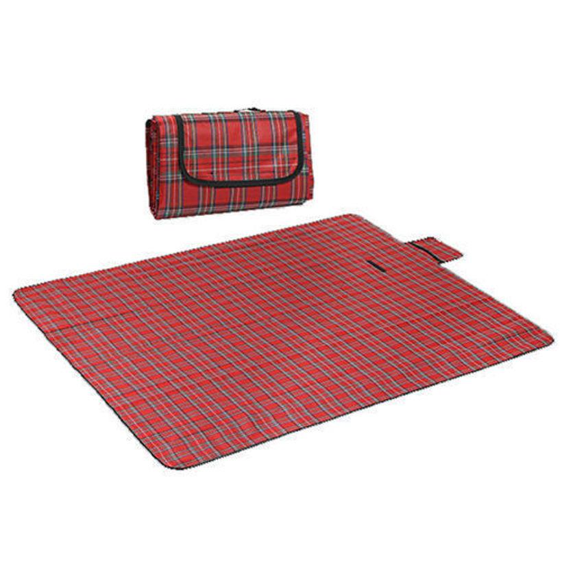 Водонепропусклива постелка за пикник или къмпинг или плаж