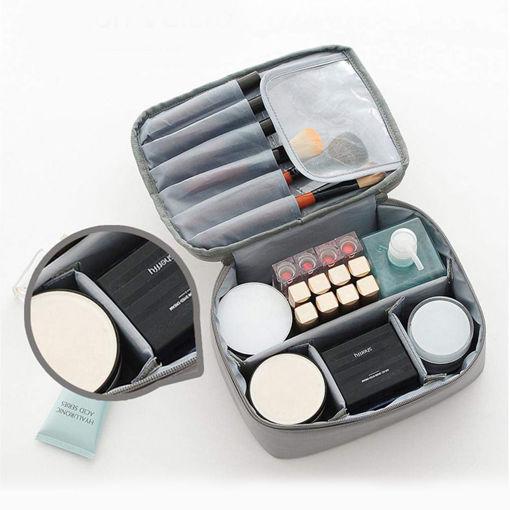 Несесер за гримове и козметика козметична чанта органайзер