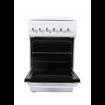 Комбинирана готварска печка Hoffmann K5040R2FPW