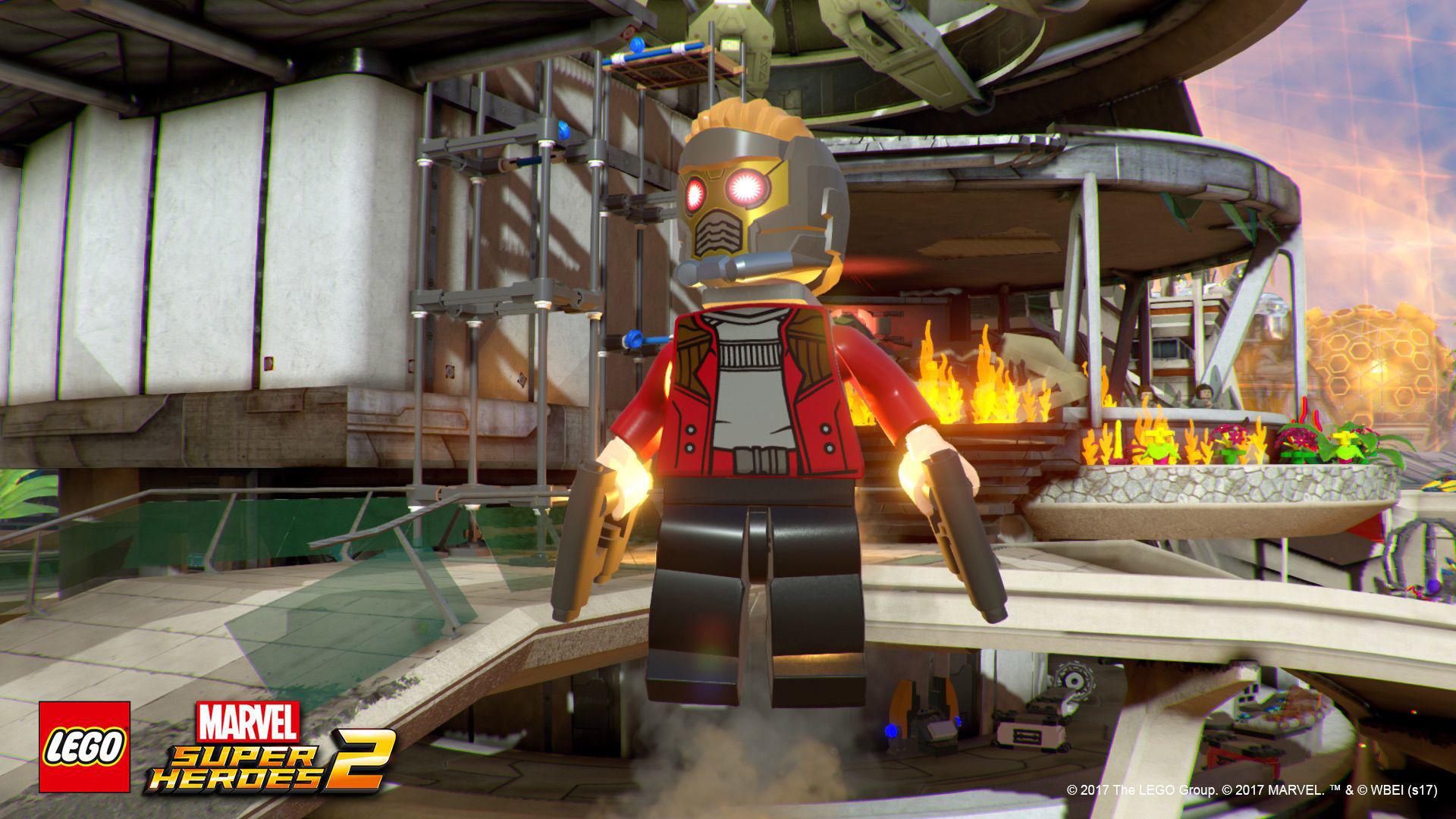 Игра Lego Marvel super Heroes 2 за PS4