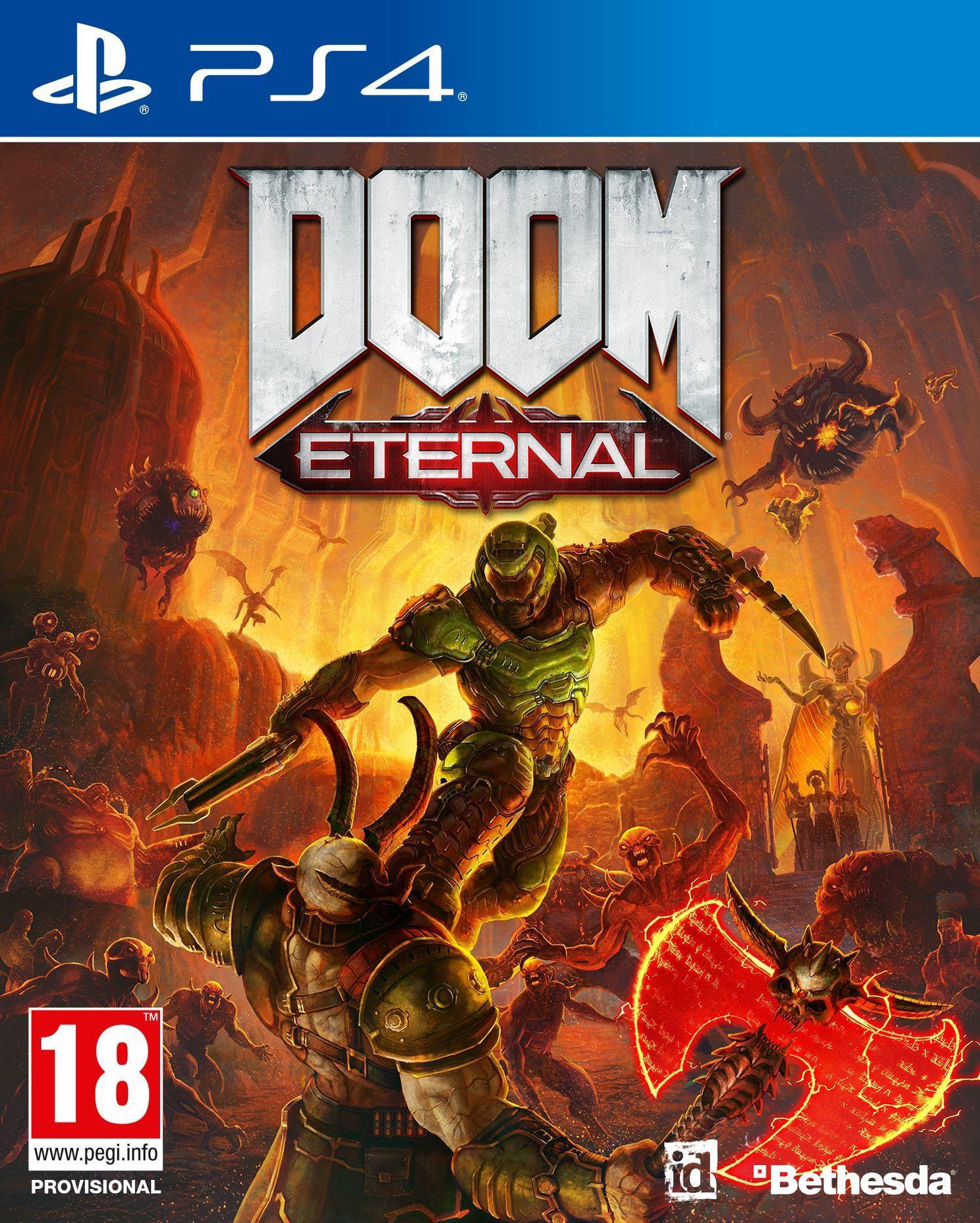 Игра Doom Eternal  за PS4