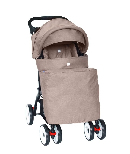 Бебешка лятна количка Kikkaboo Airy Beige