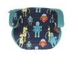 Стол за кола 2-3 (15-36 кг) Kikkaboo Jazzy Blue Robots