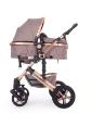 Комбинирана количка 2 в 1 с трансф.седалка Kikkaboo Darling Beige 2020