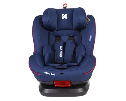 Стол за кола 0-1-2 (0-25 кг) Kikkaboo Twister ISOFIX Blue