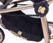 Комбинирана количка 3 в 1 Kikkaboo Vicenza Luxury Beige golden frame