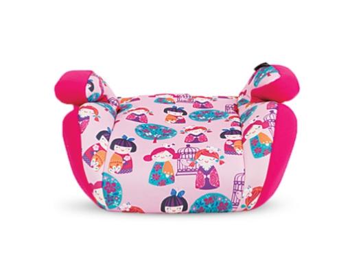 Стол за кола 2-3 (15-36 кг) Kikkaboo Jazzy Pink Dolls