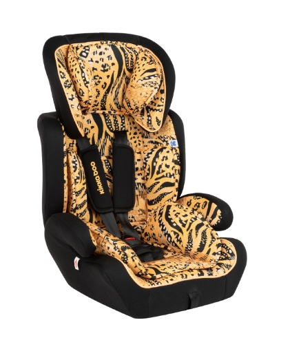 Стол за кола 1-2-3 (9-36 кг) Kikkaboo Joyride Yellow 2020