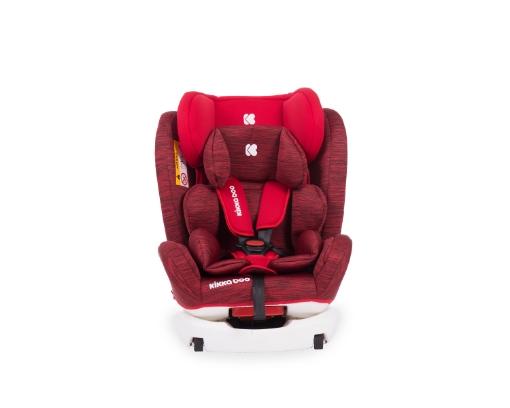 Стол за кола 0-1-2-3 (0-36 кг) Kikkaboo 4 Fix DOUBLE ISOFIX Red