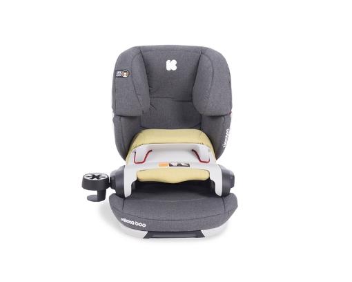 Стол за кола 1-2-3 (9-36 кг) Kikkaboo Ferris ISOFIX Light Grey