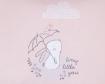 Чувалче за количка Kikkaboo Polar Rabbit Pink