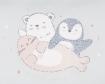 Чувалче за количка Kikkaboo Polar Friends Blue