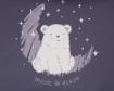 Чувалче за количка Kikkaboo Polar Bear Navy