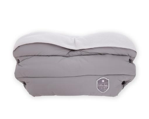 Ръкавица за количка Kikkaboo Embroidered Light Grey