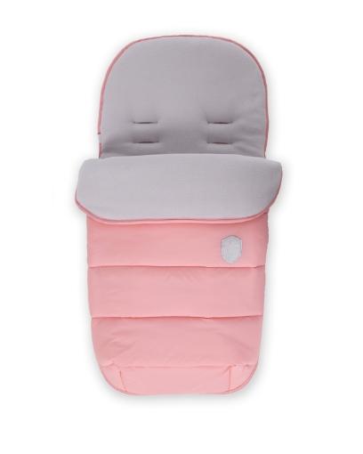 Чувалче за количка Kikkaboo Embroidered Pink