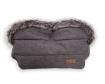 Ръкавица за количка Kikkaboo Luxury Melange Black