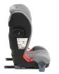 Стол за кола 2-3 (15-36 кг) Kikkaboo Tilt ISOFIX Light Grey 2020