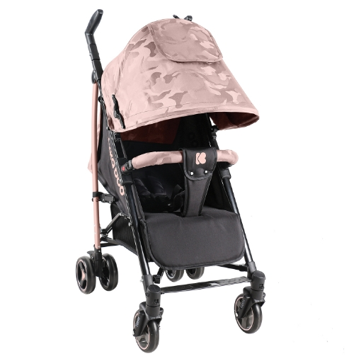 Бебешка лятна количка Kikkaboo Kingsy Pink 2020