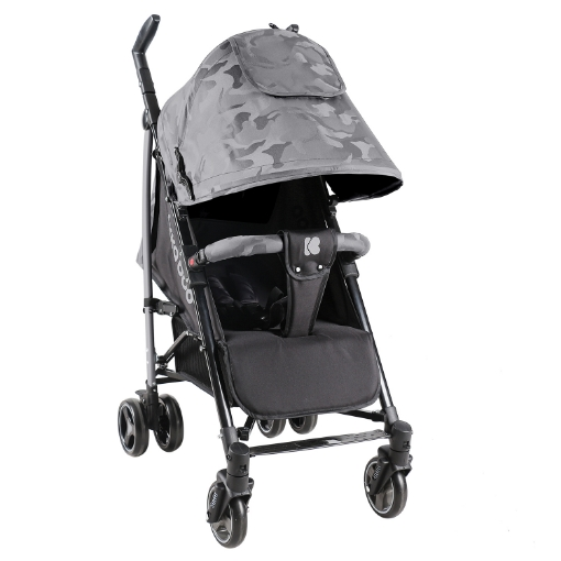 Бебешка лятна количка Kikkaboo Kingsy Grey 2020