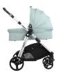 Комбинирана количка 3 в 1 Kikkaboo Ugo Mint Melange 2020