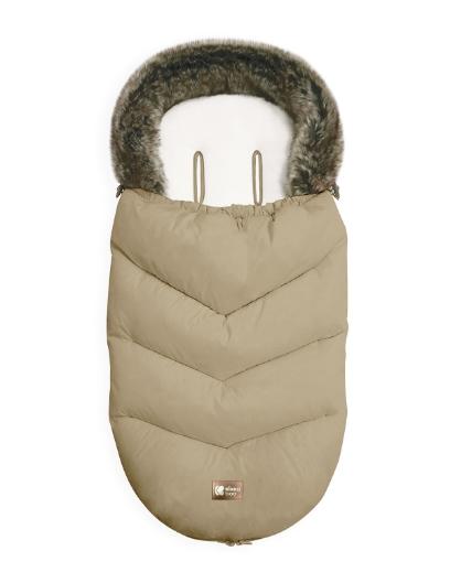 Чувалче за количка Kikkaboo Luxury Fur Beige