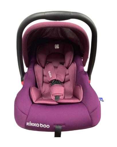 Стол за кола 0+ (0-13кг) Kikkaboo Vivo Purple