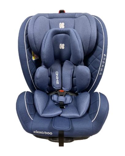 Стол за кола 0-1-2-3 (0-36 кг) Kikkaboo Rhino ISOFIX Blue