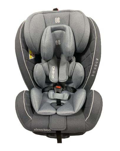 Стол за кола 0-1-2-3 (0-36 кг) Kikkaboo Rhino ISOFIX Grey