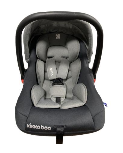 Стол за кола 0+ (0-13кг) Kikkaboo Vivo Grey