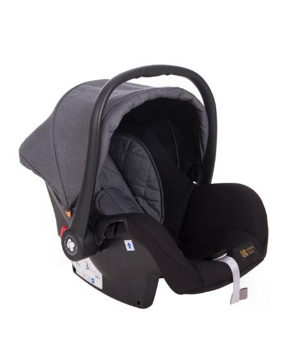 Стол за кола 0+ (0-13 кг) Kikkaboo Amaia Black (Dark Grey)