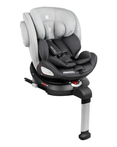 Стол за кола 0-1-2-3 (0-36 кг) Kikkaboo Ronda ISOFIX Light Grey