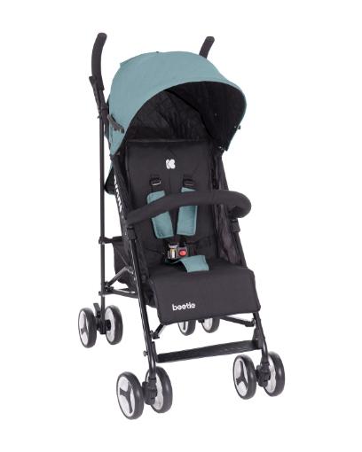 Бебешка лятна количка Kikkaboo Beetle Mint
