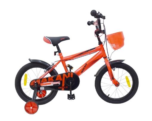 Kikkaboo Makani Детски велосипед 16`` Diablo Red