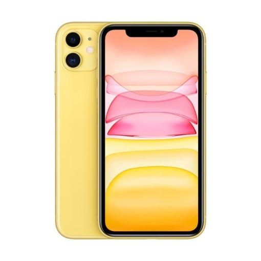 Смартфон Apple iPhone 11 128GB Yellow MHDL3GH/A, 128 GB, 4 GB