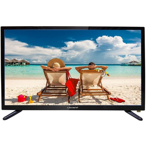 Телевизор Crown 24D16AWS , 1366x768 HD Ready , 24 inch, 60 см, Android , LED  , Smart TV