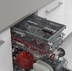 Съдомиялна машина за вграждане Sharp QW-NS1GI47EX , 10 комплекта, 45 Ш, мм, E